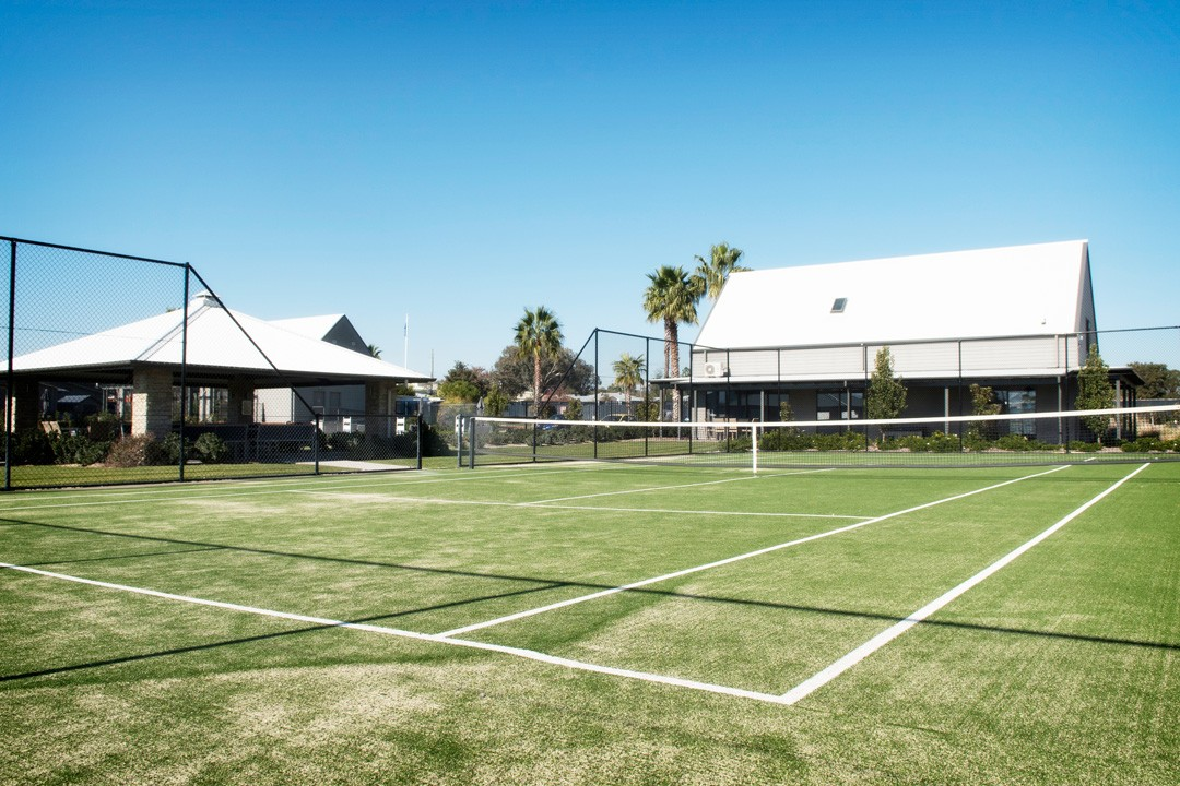 Tamworth Retirement Village Tennis Court